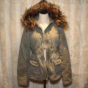 Hollister Sherpa-lined Parka Jacket